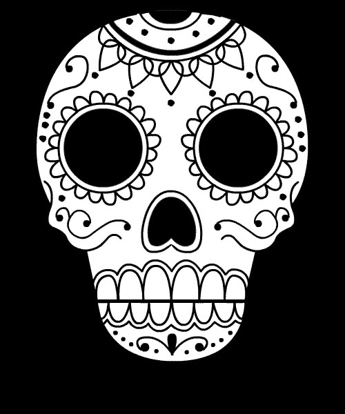 Displaying  19  Gallery Images For Voodoo Skull Drawing   Voodoo Skull Drawing