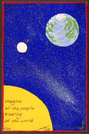 Lennon X-mas card #2