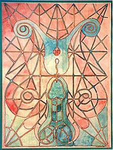 The Shaft of Life Penetrates the Well of Souls Giving Birth to Time & Space