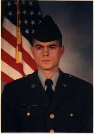 my brother when he graduated from the army.