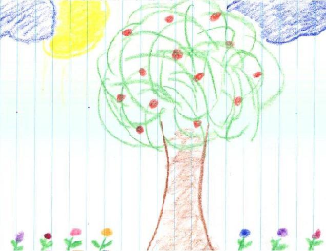 a tree that i drew.