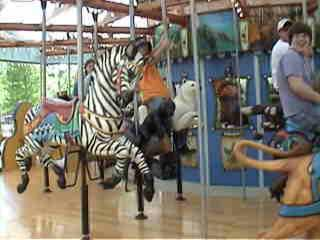 kevin on the carousel.
