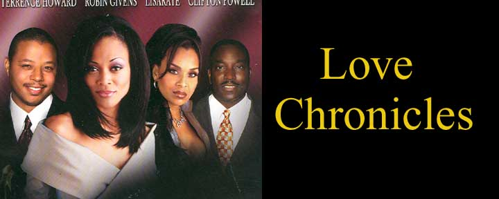 LOVE CHRONICLES Written and Directed by Tyler Maddox-Simms