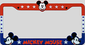 mickey mouse americana back of frame - Mickey Mouse Photo Frames