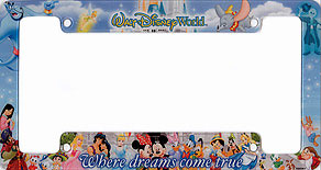walt disney world where dreams come true - Disney World Picture Frames