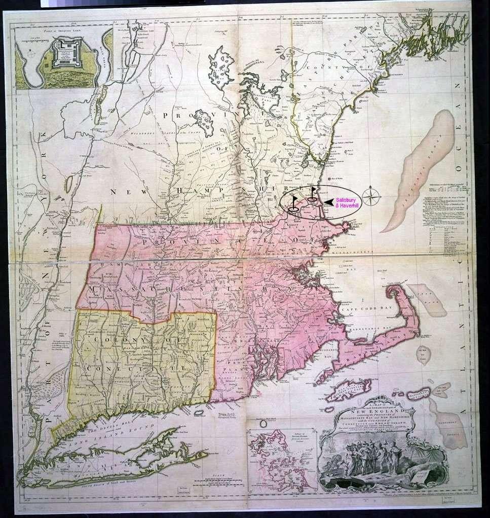 New England, 1755