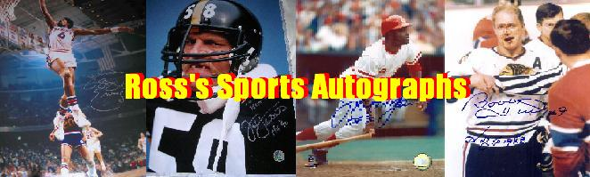 Ross'sportautographs.com