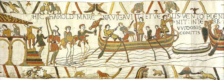 Bayeux Tapestry Story Of William The Conqueror And The