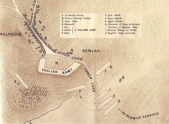 Maps Of The Battle Of Hastings