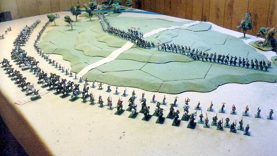 My Battle of Hastings in pictures: miniature wargame photos