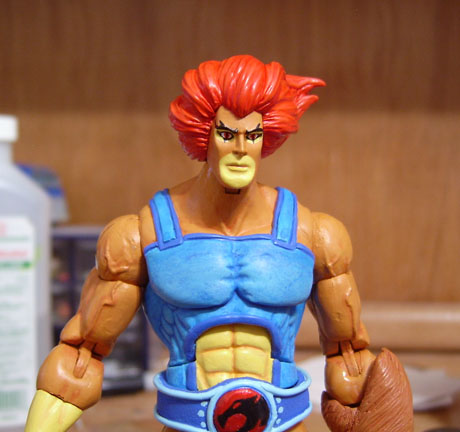 Liono Thundercats on Toyfare  116 Custom Lion O  Thundercats