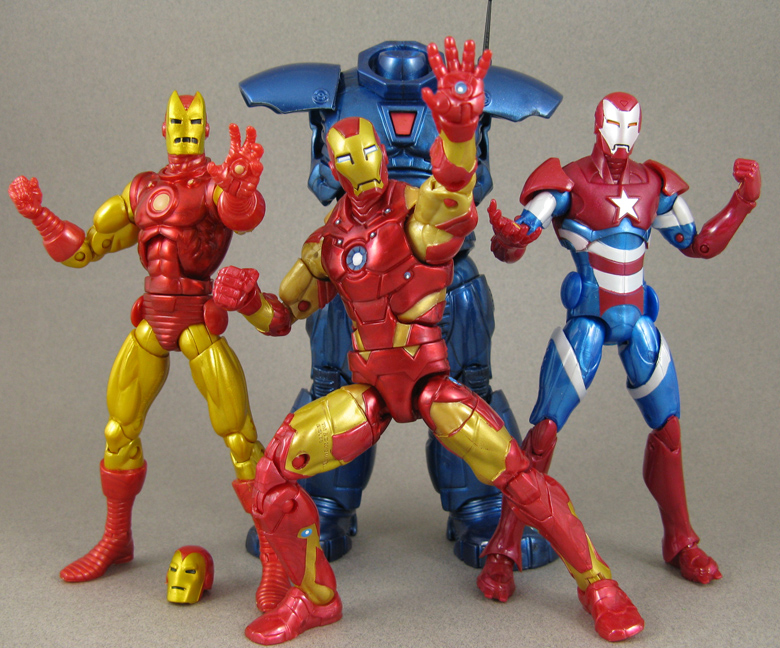 "Marvel Legends Select Iron Man Iron Patroit 7/"" Action Figure Loose"