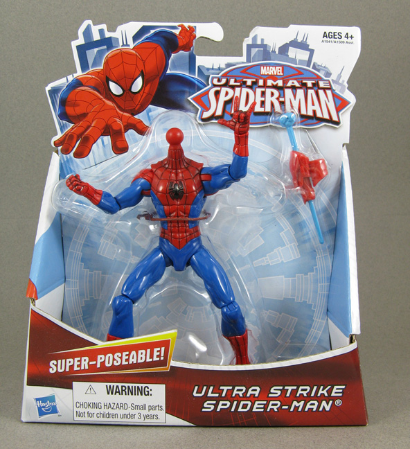Jin Saotome's Five Minute Toy Review: Ultimate Spiderman ...