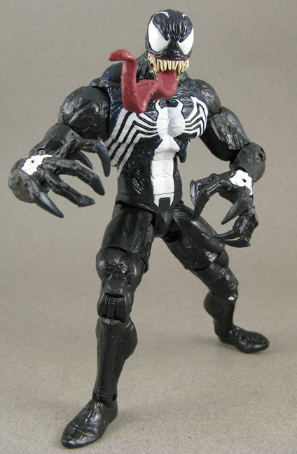 Jin Saotome S Five Minute Toy Review Marvel Select Venom By
