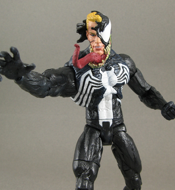 Jin Saotome S Five Minute Toy Review Marvel Select Venom By Diamond