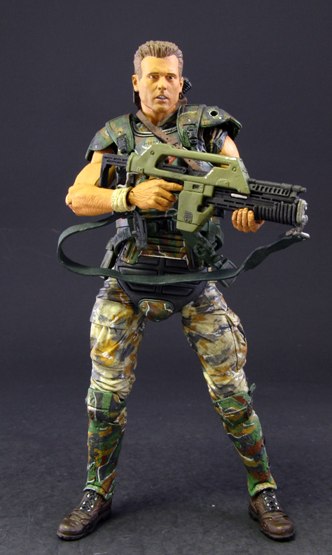 NECA Aliens series 1: Corporal Dwayne Hicks action figure review