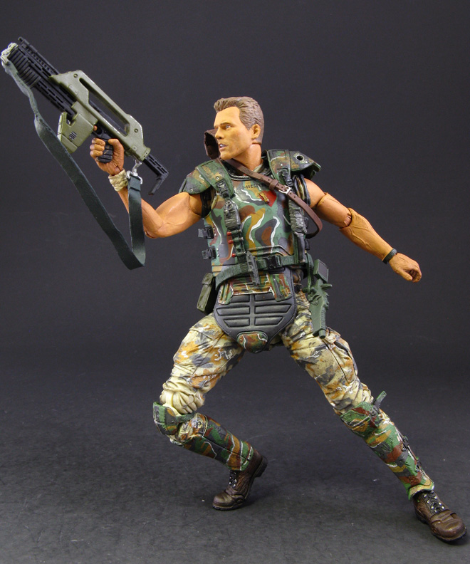 Jin Saotome S Five Minute Toy Review Neca Aliens Series 1