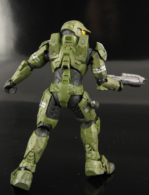 Jin Saotome S Five Minute Toy Review Halo Universe Anniversary Series 2 Master Chief The Package Figure Review
