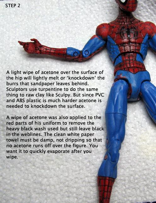 A Guide For Using Acetone In Customizing Action Figure