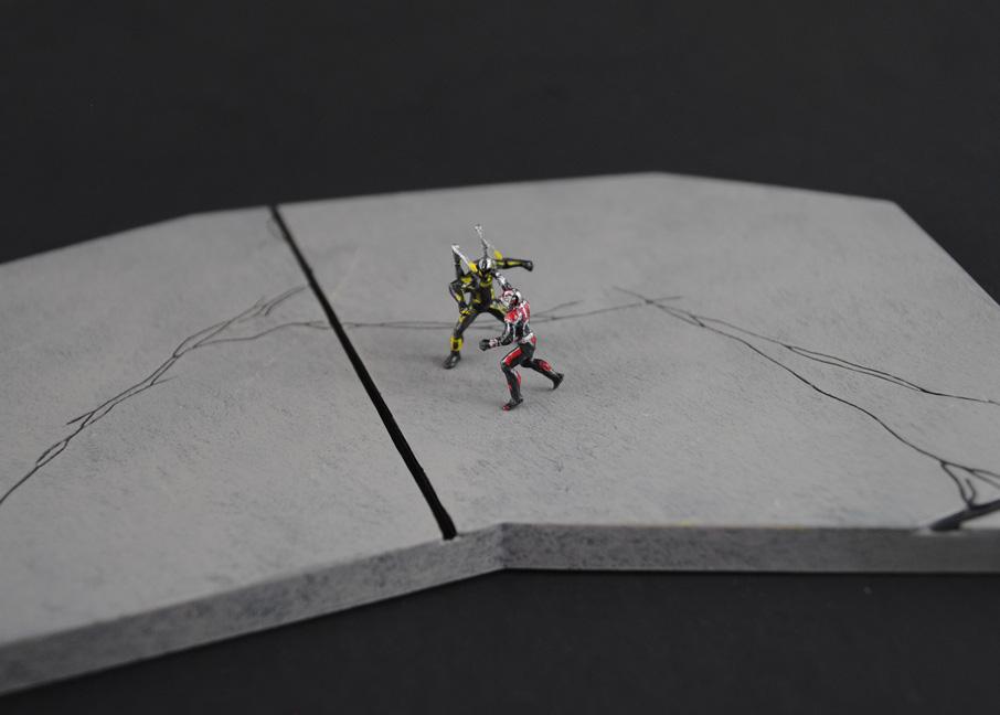 Custom AntMan figure