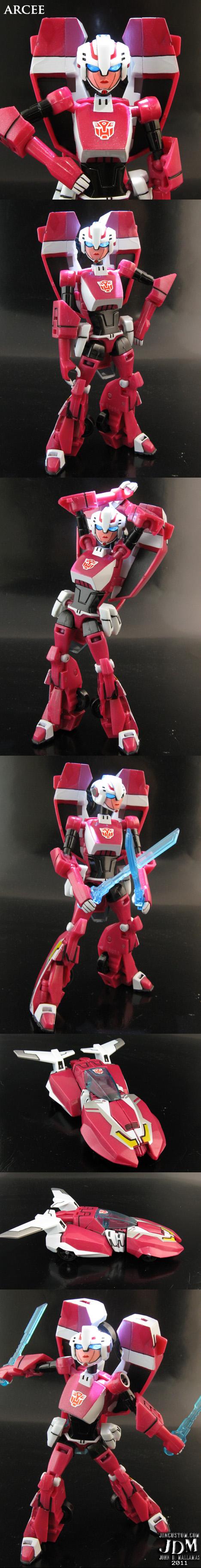 Transformers Animated Arcee