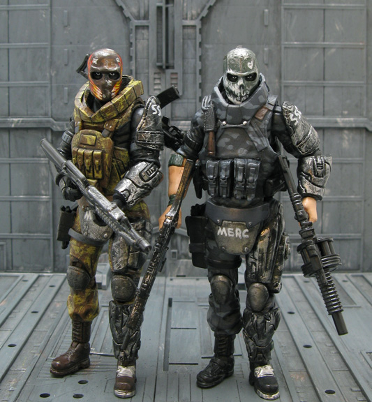 Army of Two Rios & Salem, Bass from Megaman too - HissTank.com