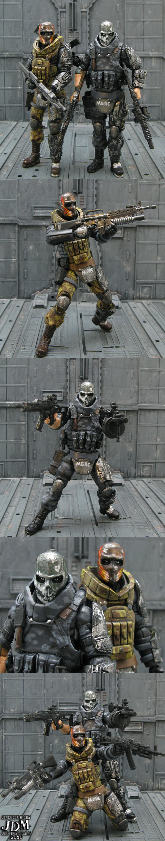 Army of Two figures