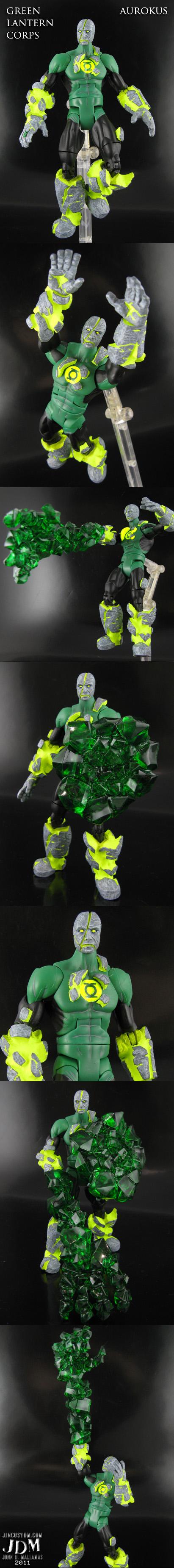 Green lantern Aurokus