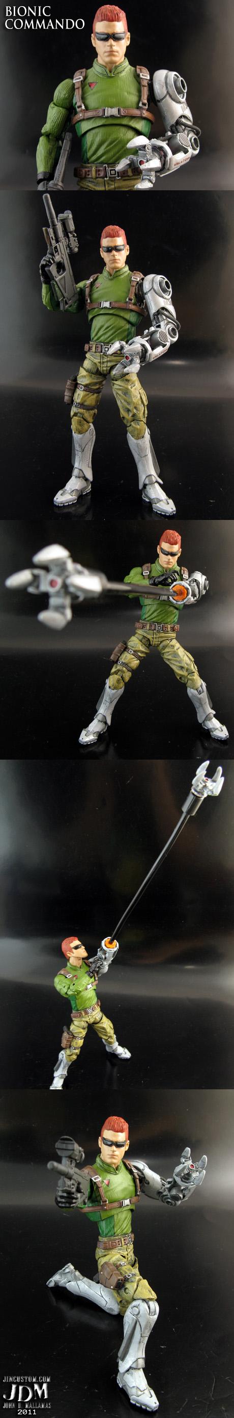 Bionic Commando Figure