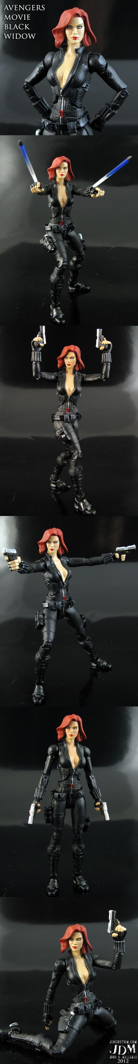Avengers Black Widow Figure