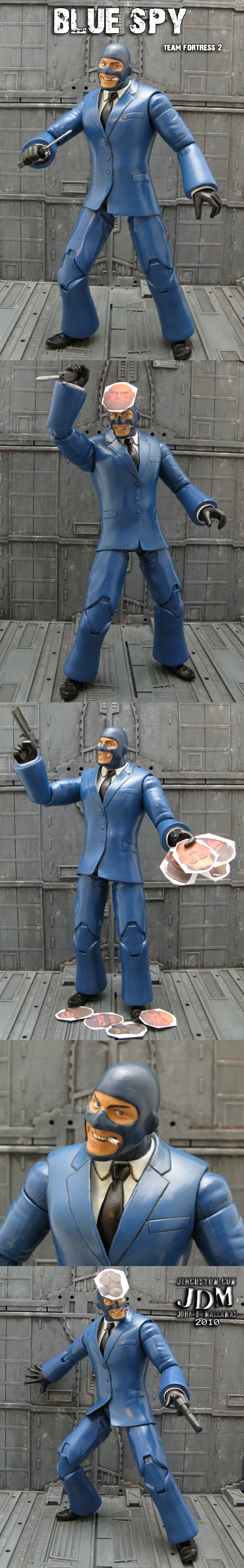 Blue Spy Team Fortress 2