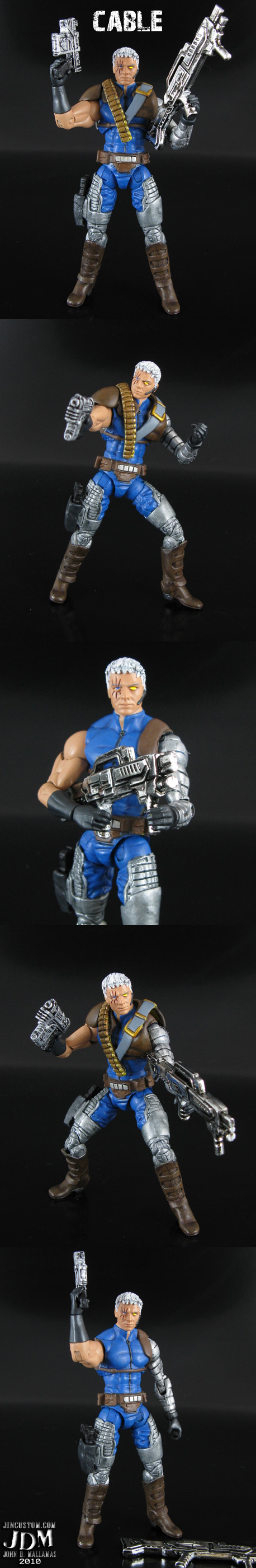 Marvel Universe Cable Custom