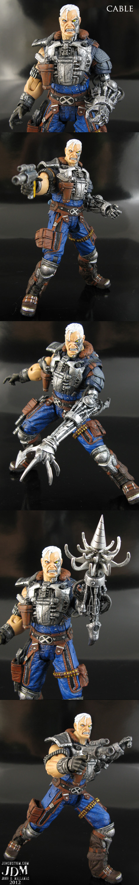Custom Cable Action Figure