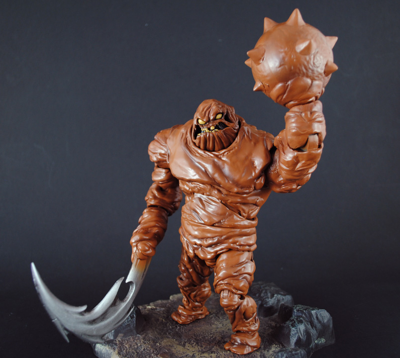 Clayface - Batman Animated Series Action Figure Deluxe at ...  |Clayface Action Figure