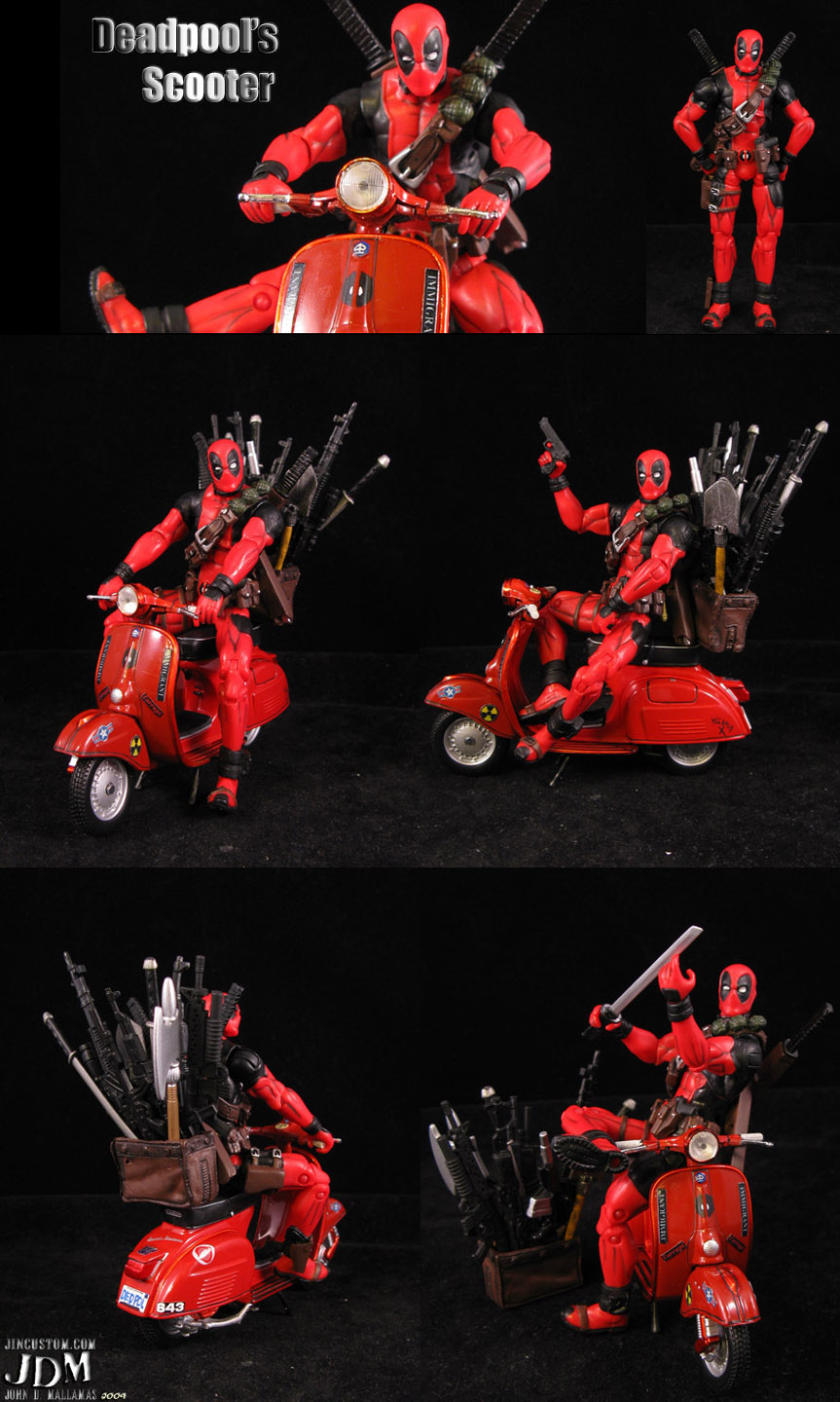 Deadpool Scooter