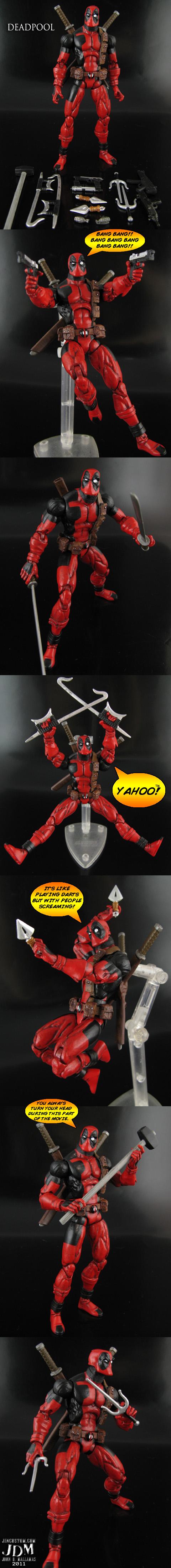 Custom Deadpool Figure