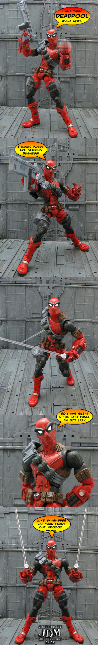 Future Deadpool Figure