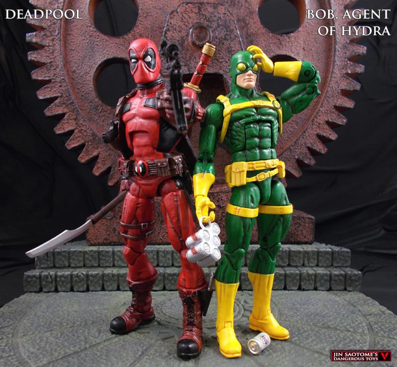 Marvel Legends Deadpool And Bob, Agent Of Hydra Custom