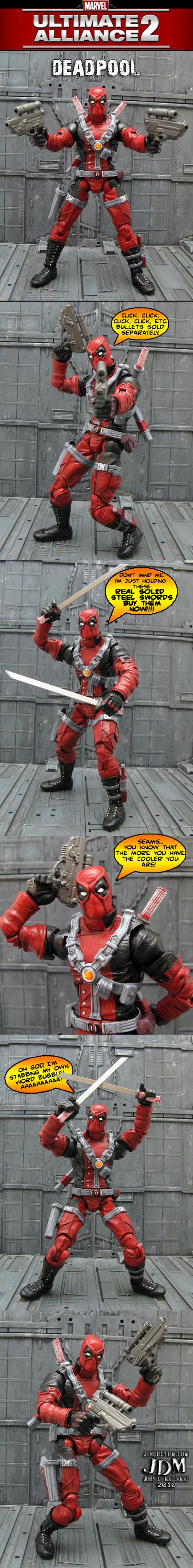 Marvel Ultimate Alliance 2 Deadpool