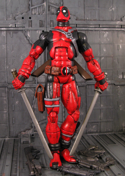 Custom Deadpool figure