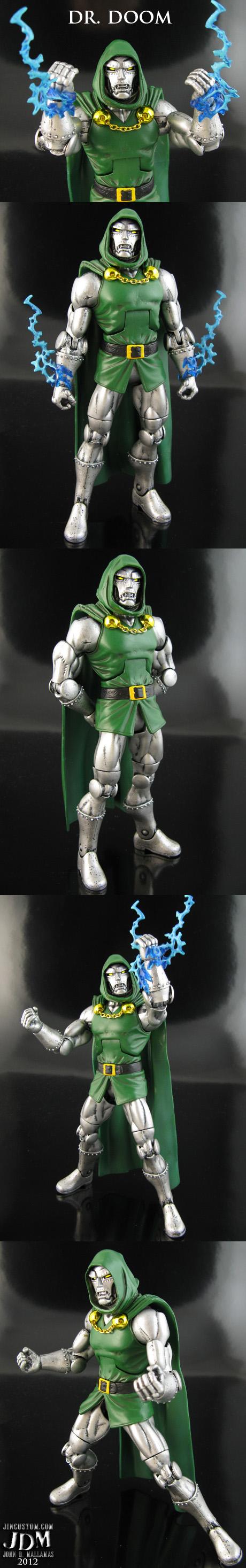 Dr Doom Custom Figure