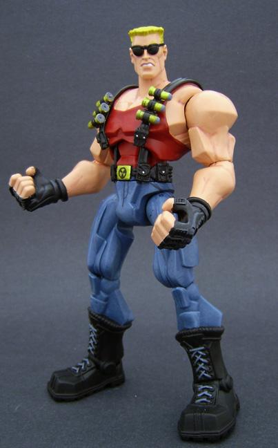 Custom Duke Nukem Figure