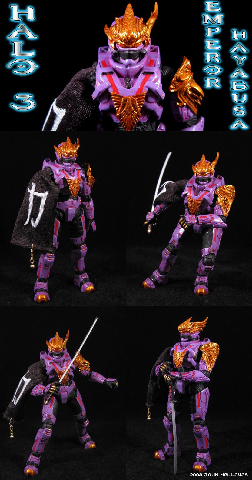 Halo 3 Emperor Hayabusa Figure