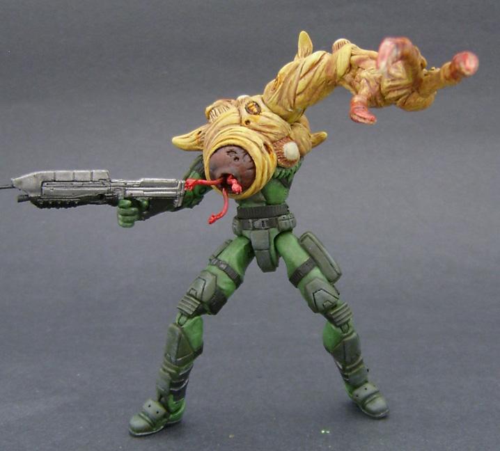 Custom Halo 3 Figure