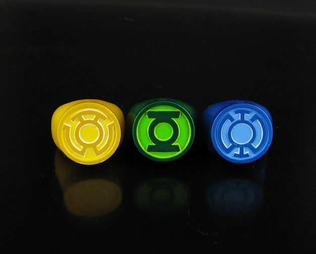 Blackest Night Rings