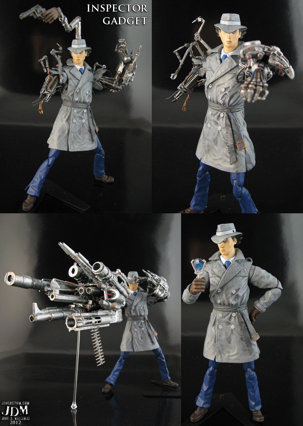 Inspector Gadget Figure
