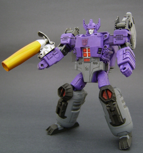 Custom Galvatron Action Figure