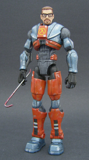 Custom Gordon Freeman Figure