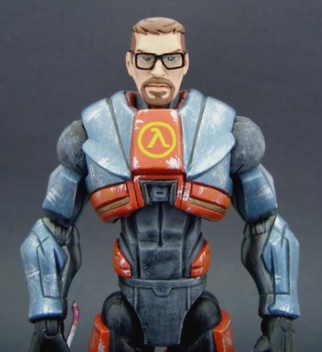 Custom Half Life Action Figure