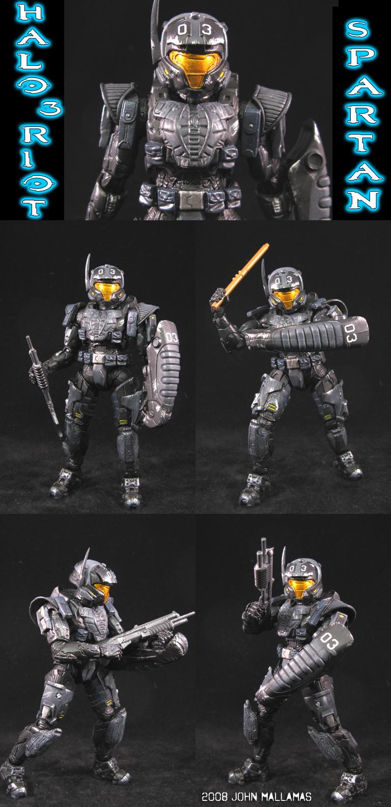 Riot Spartan